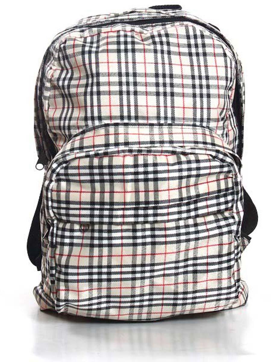 Рюкзак городской Ibag Бежевая клетка, цвет: светло-бежевый, 18 л182 бежевая клеткаЯркий и стильный рюкзак Ibag, выполненный из ткани оксфорд и ПВХ, это отличное решение для города. Рюкзак имеет два вместительных отделения и два наружных кармана на молнии. Оснащен удобной ручкой для переноски и лямками, которые регулируются по размеру.