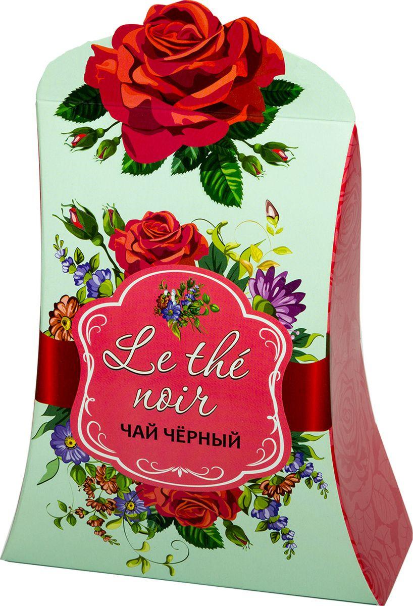 Le the noir чай черный крупнолистовой (розовый), 80 г stendhal le rouge et le noir