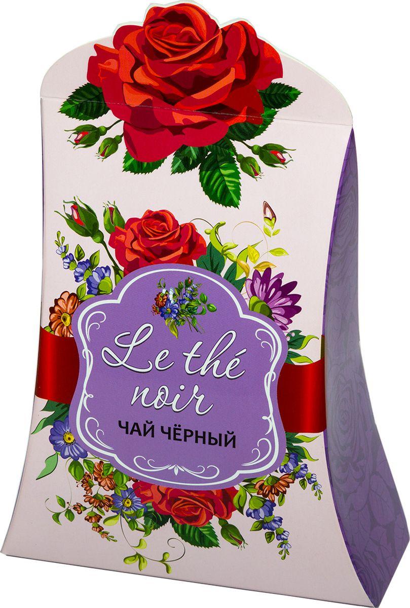 Le the noir чай черный крупнолистовой (сиреневый), 80 г le rouge et le noir ii