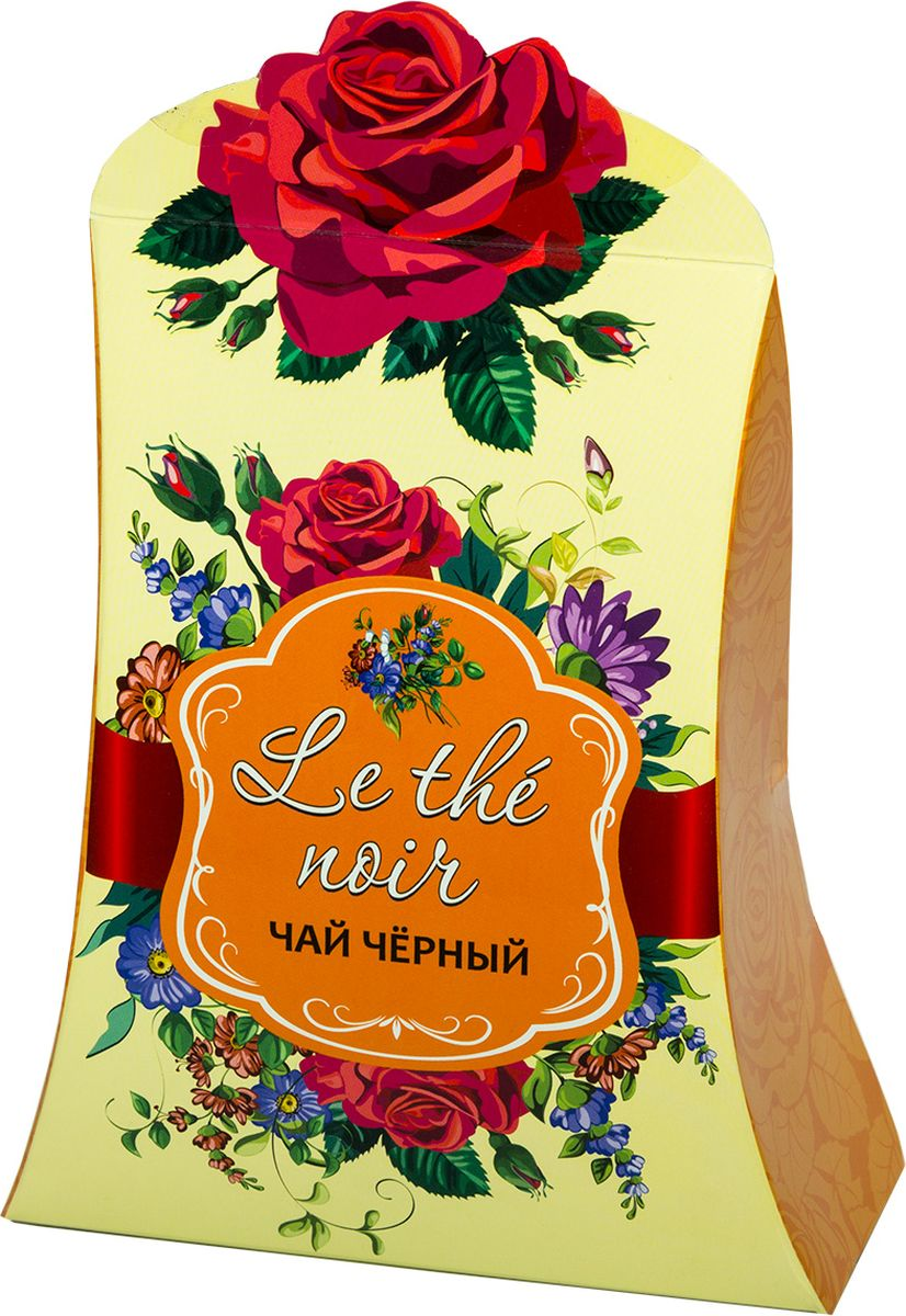 Le the noir чай черный крупнолистовой (желтый), 80 г le rouge et le noir ii
