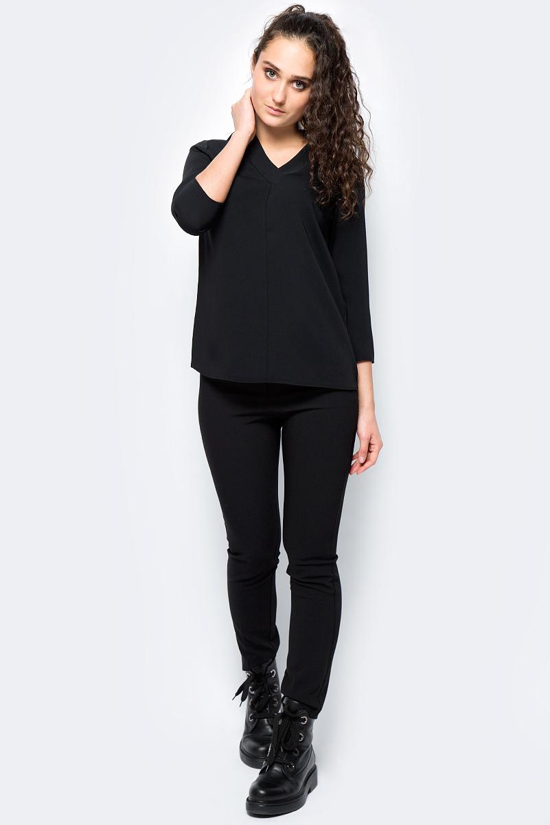 Блузка женская adL, цвет: черный. 11532121000_001. Размер L (46/48)11532121000_001