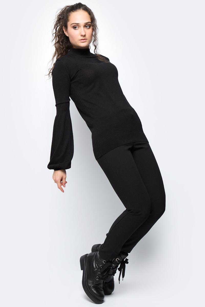 Джемпер женский adL, цвет: черный. 13931920001_001. Размер M (44/46)13931920001_001