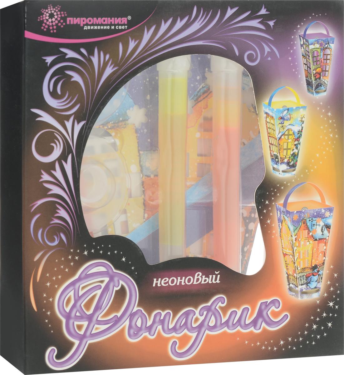 Partymania Декоративный неоновый фонарик цвет желтый розовый 3 шт -  Аксессуары для детского праздника