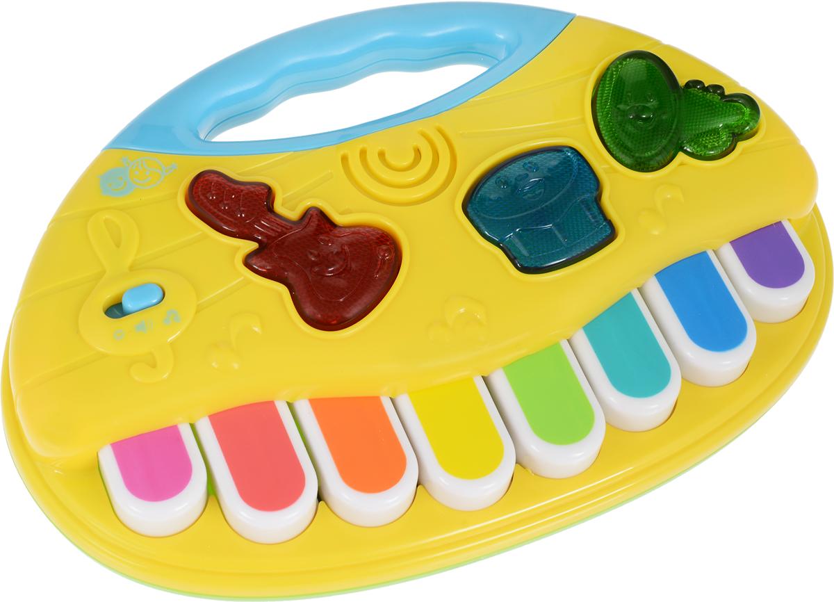PlayGo Развивающая игрушка Мое первое пианино цвет желтый