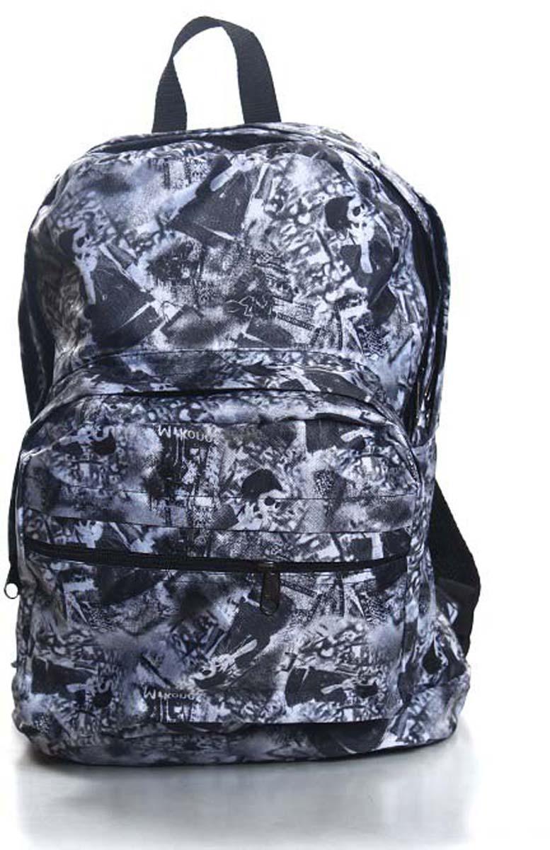 Рюкзак городской Ibag Серые девушки, цвет: серый, 18 л182 серые девушкиЯркий и стильный рюкзак Ibag, выполненный из ткани оксфорд и ПВХ, это отличное решение для города. Рюкзак имеет два вместительных отделения и два наружных кармана на молнии. Оснащен удобной ручкой для переноски и лямками, которые регулируются по размеру.