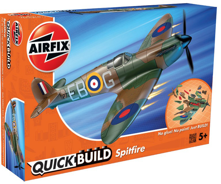 Airfix Конструктор QUICK BUILD Spitfire тарелка joy fook ceramics 10