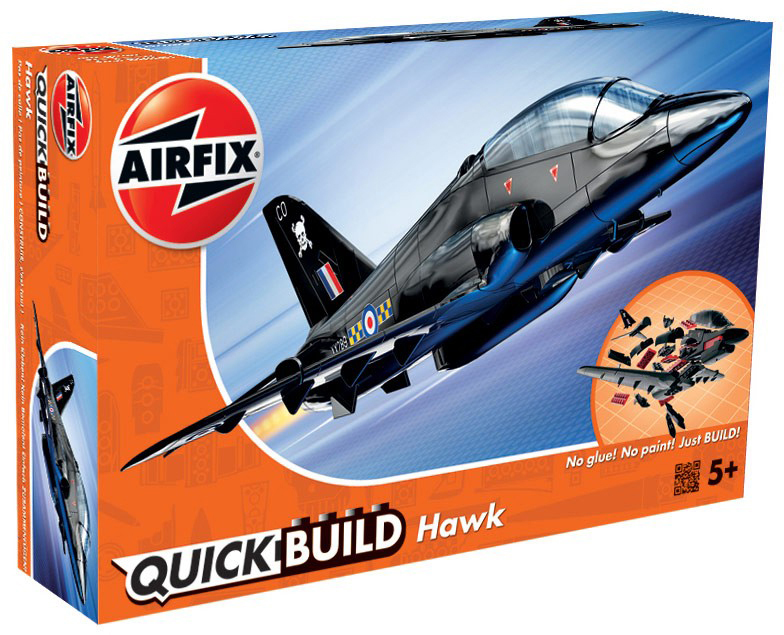 Airfix Конструктор QUICK BUILD BAE Hawk
