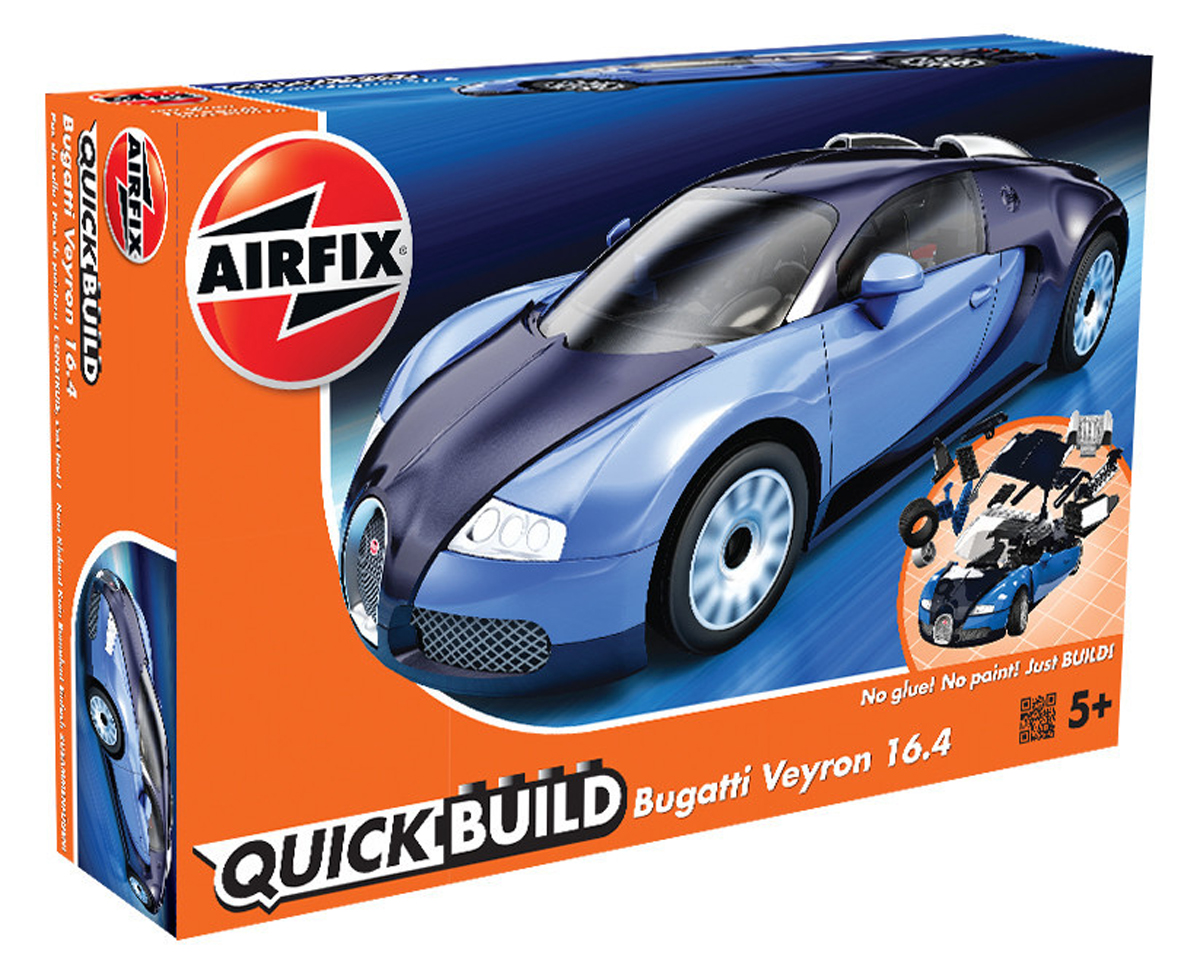 Airfix Конструктор QUICK BUILD Bugatti Veyron - Конструкторы