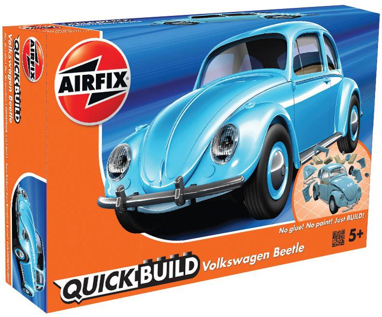 Airfix Конструктор QUICK BUILD Volkswagen Beetle