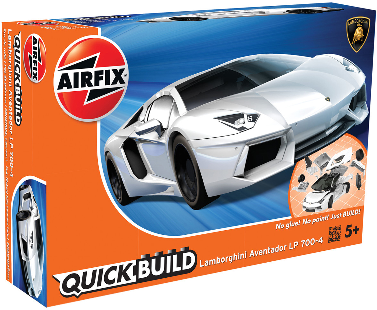 Airfix Конструктор QUICK BUILD Lamborghini Aventador New Colour - Конструкторы