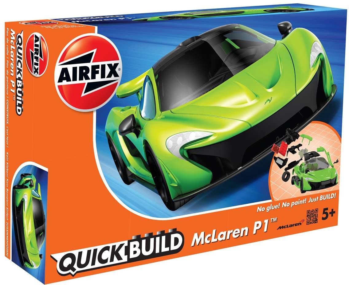 Airfix Конструктор QUICK BUILD McLaren P1 new colour