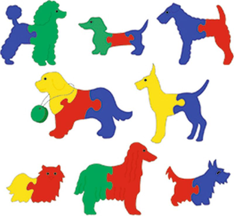 Флексика Мягкая мозаика Выставка собак