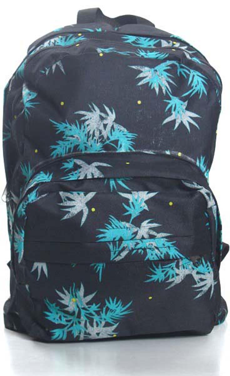 Рюкзак городской Ibag Укроп на черном, цвет: черный, 18 л182 укроп на черномЯркий и стильный рюкзак Ibag, выполненный из ткани оксфорд и ПВХ, это отличное решение для города. Рюкзак имеет два вместительных отделения и два наружных кармана на молнии. Оснащен удобной ручкой для переноски и лямками, которые регулируются по размеру.