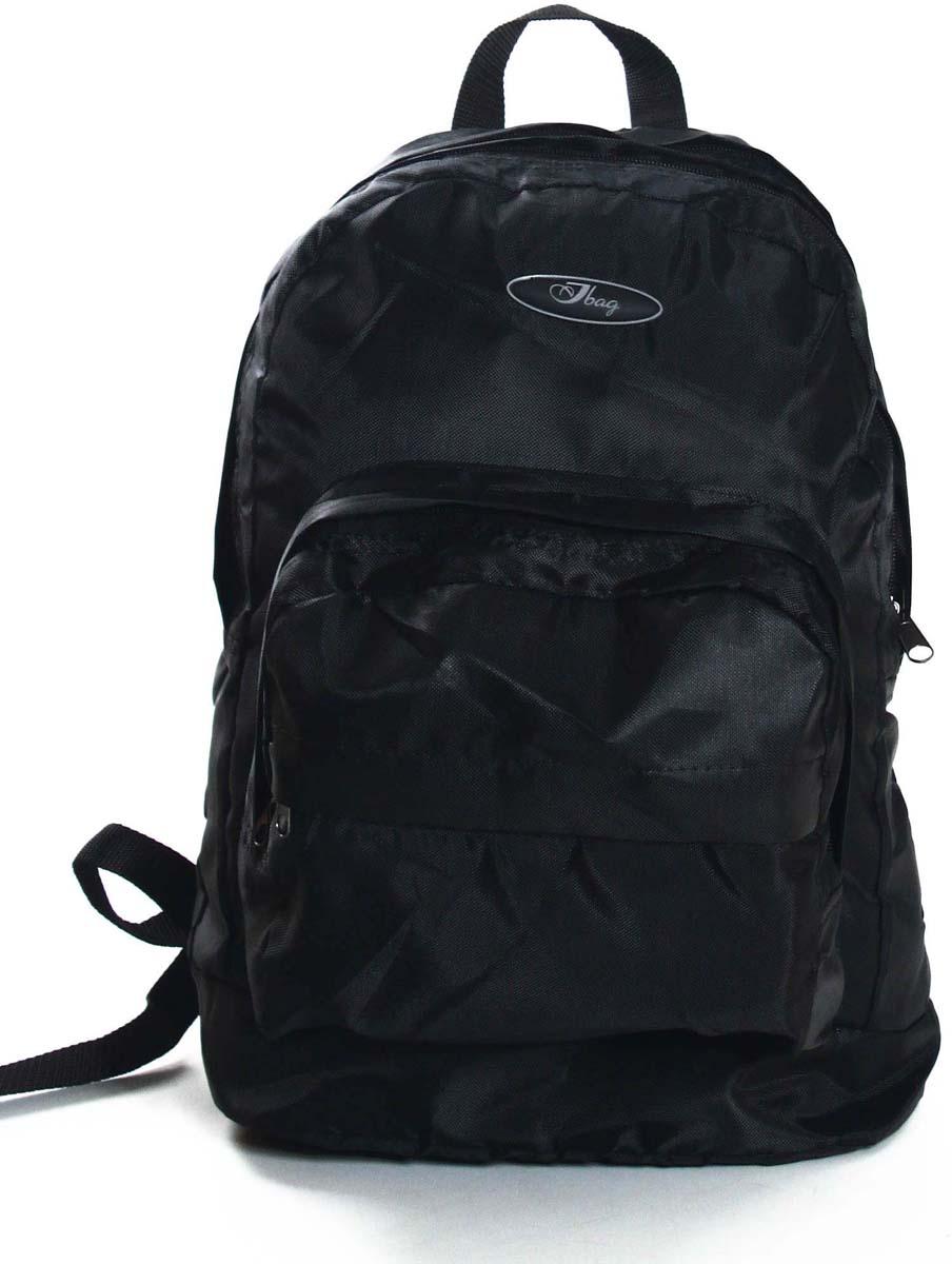 Рюкзак городской Ibag Черный, цвет: черный, 18 л182 Черный (840)Яркий и стильный рюкзак. Отличное решение для города. Рюкзак имеет два вместительных отделения и два наружных кармана на молнии.