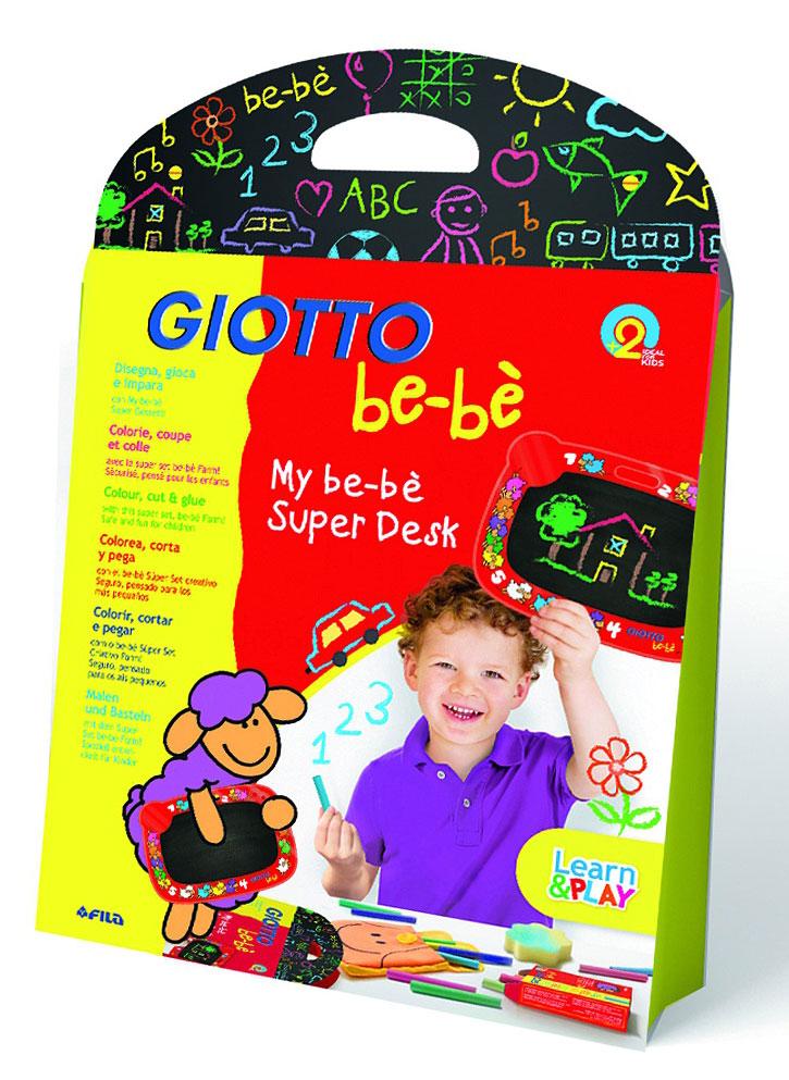 Набор для рисования мелом Giotto Be-be, 13 предметов465300Этот набор для рисования мелом подойдет даже самому маленькому художнику. Ведь малышам так важно дать возможность для реализации их творческих планов. Удобная, двусторонняя доска со специальным покрытием и прочной желтой рамочкой - как раз то, что нужно маленькому творцу.Рисование мелом учит ребенка использовать выразительные особенности материала, развивает творческое воображение и превращает рисование в веселую игру.В наборе: доска в желтой рамочке, цветные мелки - 10 шт, держатель для мела, губка для стирания мела. Характеристики: Размер доски: 20 см х 24 см.Размер упаковки: 31,5 см х 25,5 см х 2,5 см.Рекомендуемый возраст: от 2 лет.