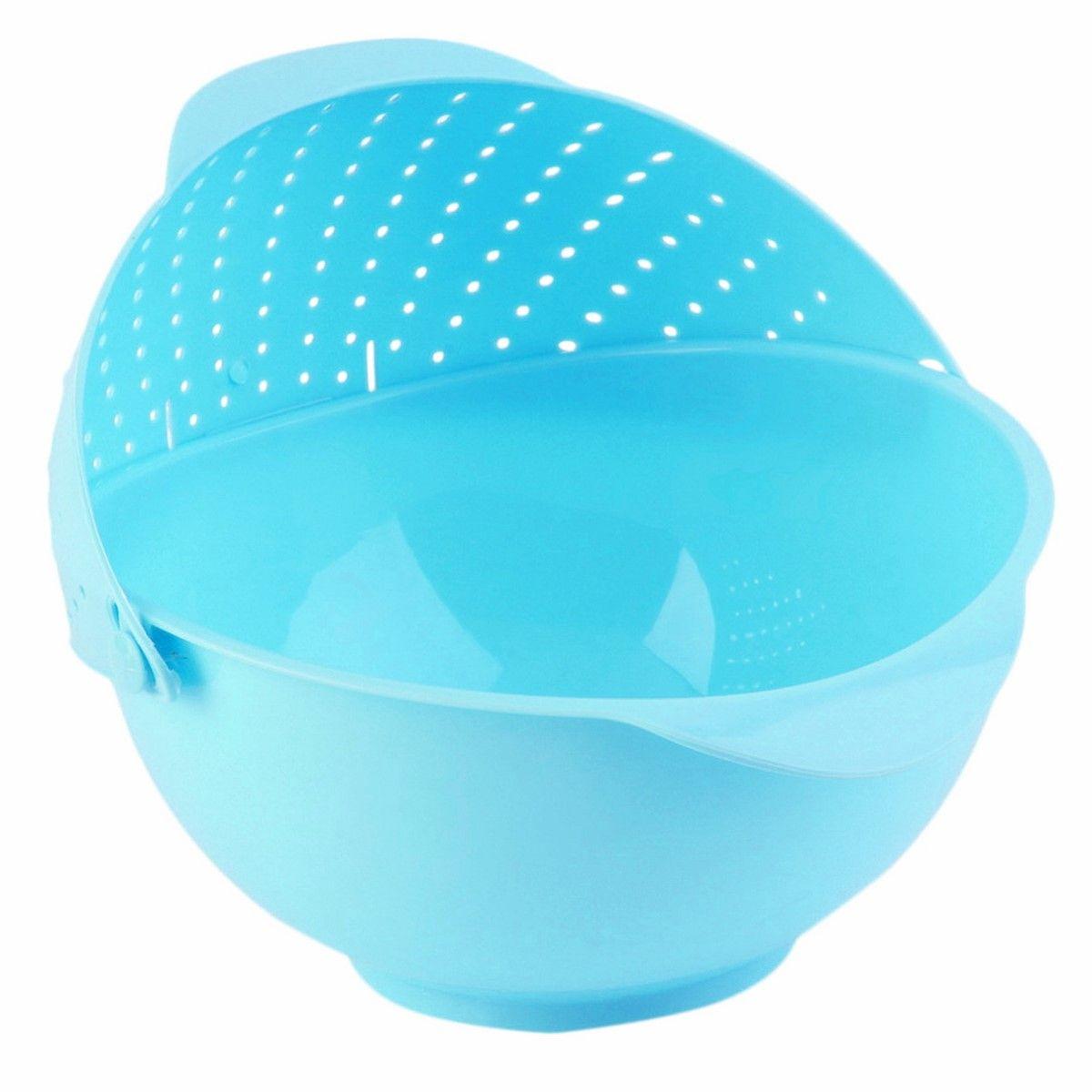 Дуршлаг-чаша Ruges Фильтрен, цвет: синий, 27 х 25 х 11 смK-61Ruges Фильтрен - это вместительная пластиковая чаша с перекидным дуршлагом на ободе. Изделие выполнено из пластика.Удобство в том, что пусть вы собрали фрукты в чашу – заливайте в ней же водой, мойте и сливайте воду, наклонив чашу в сторону дуршлага. То же самое с зеленью или замоченными крупами.Размеры: 27 х 25 х 11 см. Объем: 2,7 л. Вес: 175 г.
