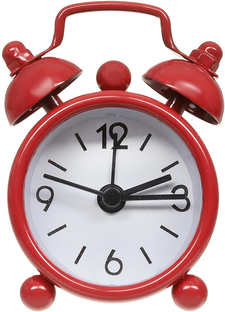 Часы-будильник Sima-land, цвет: красный. 1103898110389_красныйКак же сложно иногда вставать вовремя! Всегда так хочется поспать еще хотябы 5 минут ибывает,что мы просыпаем. Теперь этого не случится! Яркий, оригинальный будильникSima-landпоможет вам всегдавставать в нужное время и успевать везде и всюду. Будильник украсит вашукомнату иприведет в восхищение друзей. Эта уменьшенная версия привычногобудильника умещаетсяналадони и работает так же громко, как и привычные аналоги. Время показываетточно и будит вустановленный час.На задней панели будильника расположены переключательвключения/выключения механизма,атакже два колесика для настройки текущего времени и времени звонкабудильника. Будильник работает от 1 батарейки типа LR44 (входит в комплект).