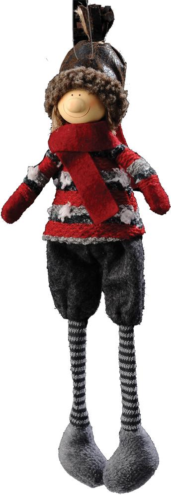 Украшение для интерьера новогоднее Erich Krause Шотландский Фермер, 36 см38746Текстильные украшения - прекрасный выбор для дома, где есть маленькие дети или домашние животные, ведь такая игрушка абсолютно безопасна. Голова куклы выполнена из полирезины. Упаковка - полибэг.