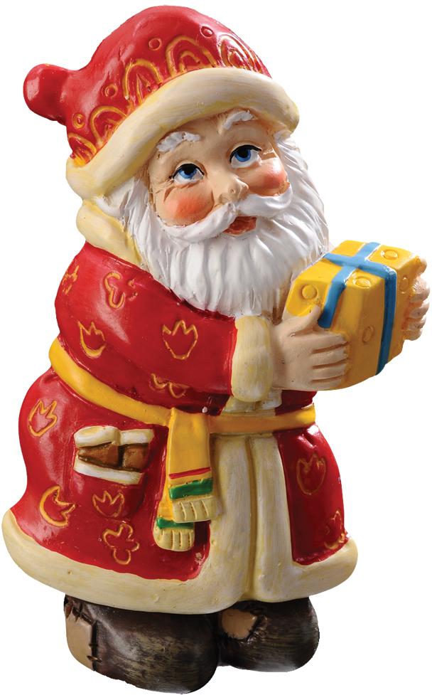Сувенир новогодний Erich Krause Вам подарок, на магните, 7 см43871Небольшой магнит в виде Деда Мороза с подарком - отличное решение для небольшого презента. Новогодние украшения всегда несут в себе волшебство и красоту праздника. Создайте в своем доме атмосферу тепла, веселья и радости, украшая его всей семьей. транспортировки и хранения изделий.