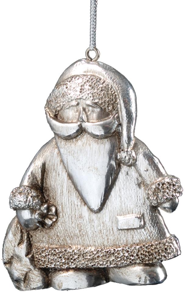 Украшение для интерьера новогоднее Erich Krause Дедушка Мороз, 7,5 см30098Миниатюрный серебряный Дед Мороз. Новогодние украшения всегда несут в себе волшебство и красоту праздника. Создайте в своем доме атмосферу тепла, веселья и радости, украшая его всей семьей.