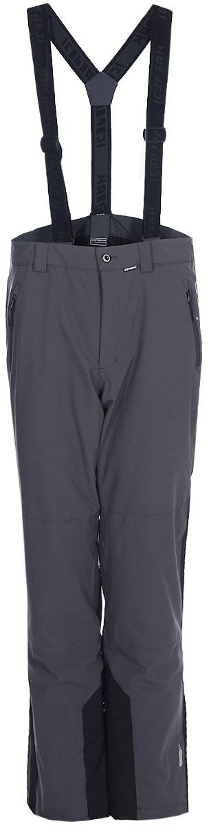 Брюки мужские Icepeak, цвет: серый. 857015839IV_285. Размер