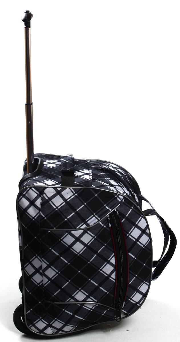 Сумка дорожная Ibag Серая клетка, на колесах, цвет: серый, 40 л1601 Серая клеткаКомпактная 16ти дюймовая колесная сумка Ibag, идеально подойдет для любого типа поездок. Ручная кладь!Снаружи есть карман на молнии, в котором очень удобно можно разместить мелкие вещи, такие как документы, телефон, ключи. Удобная телескопическая ручка и колеса сделают вашу поездку максимально комфортной, а оригинальный дизайн и цвет сумки не оставит вас равнодушным к данной модели.
