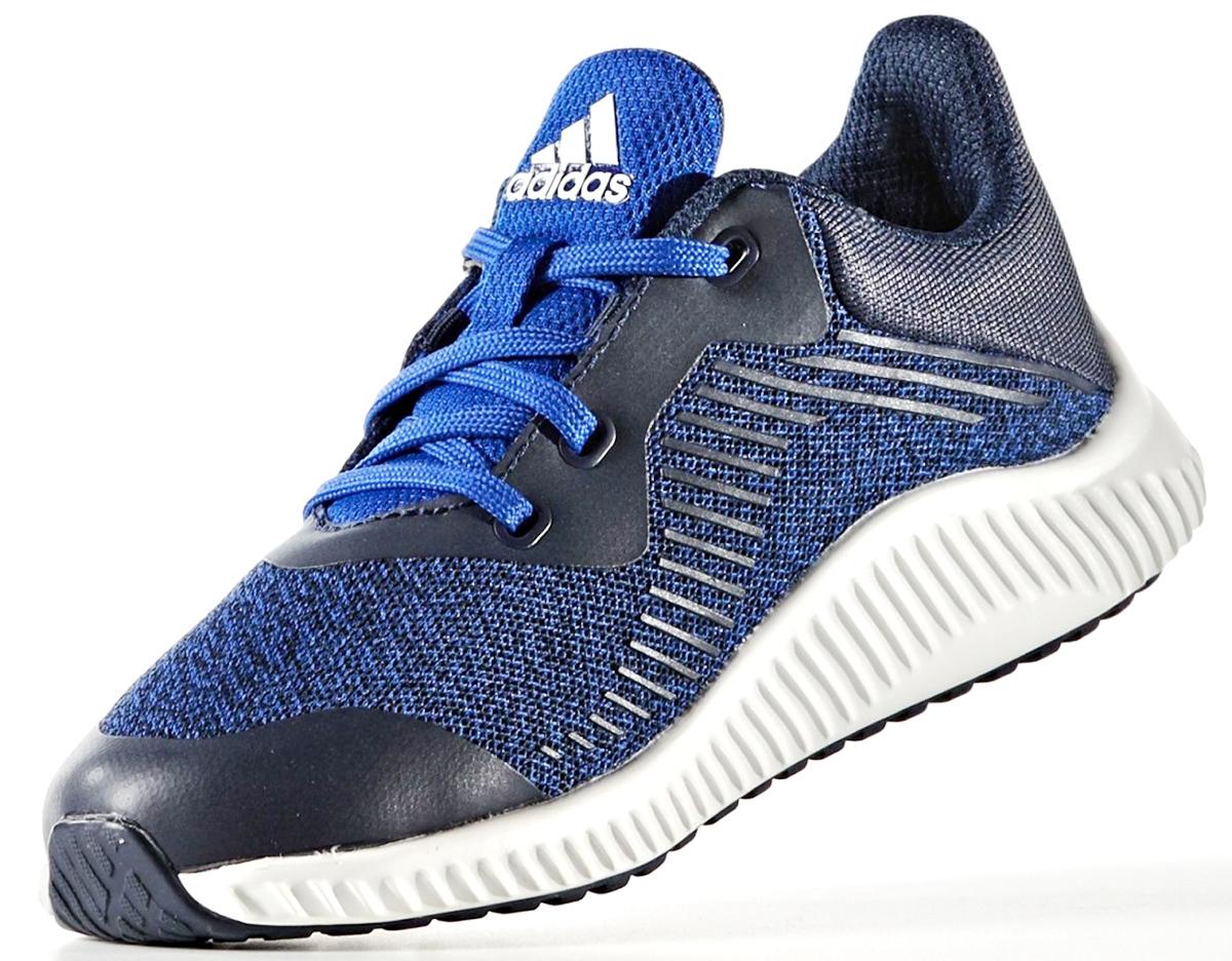 Кроссовки для мальчика adidas Fortarun K, цвет: синий. BA9489. Размер 37BA9489Бесшовный сетчатый верх. Промежуточная подошваCloudfoamдля комфортного шага и превосходной амортизации. Немаркая резиновая подошва.