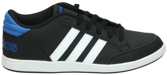 Кроссовки для мальчика adidas Hoops K, цвет: черный, синий. AQ1653. Размер 36AQ1653