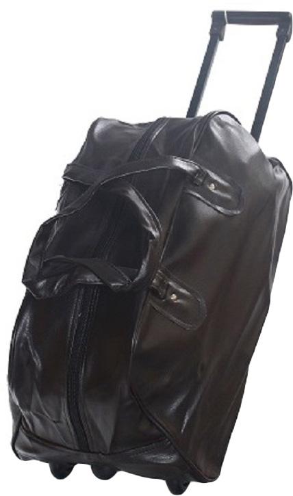 Сумка дорожная Ibag, на колесах, цвет: коричневый, 55 л