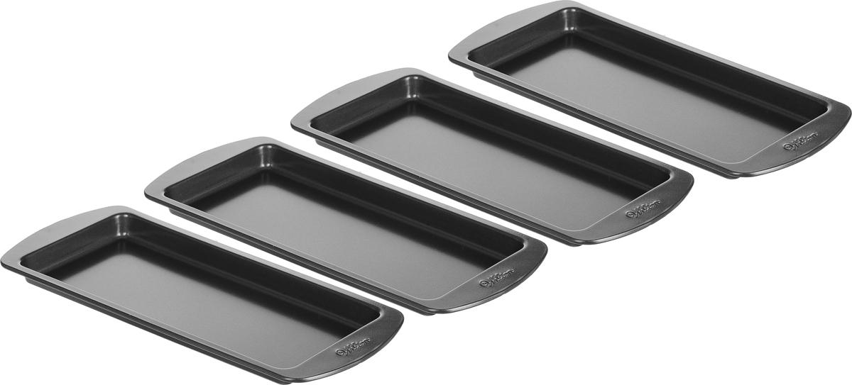 Набор форм для выпечки Wilton, 4 штWLT-2105-0911Набор металлических форм для выпечки, 4 шт.