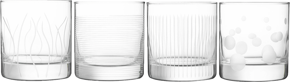 Набор стаканов ОСЗ Лаунж Клаб. Исландия, 300 мл, 4 шт
