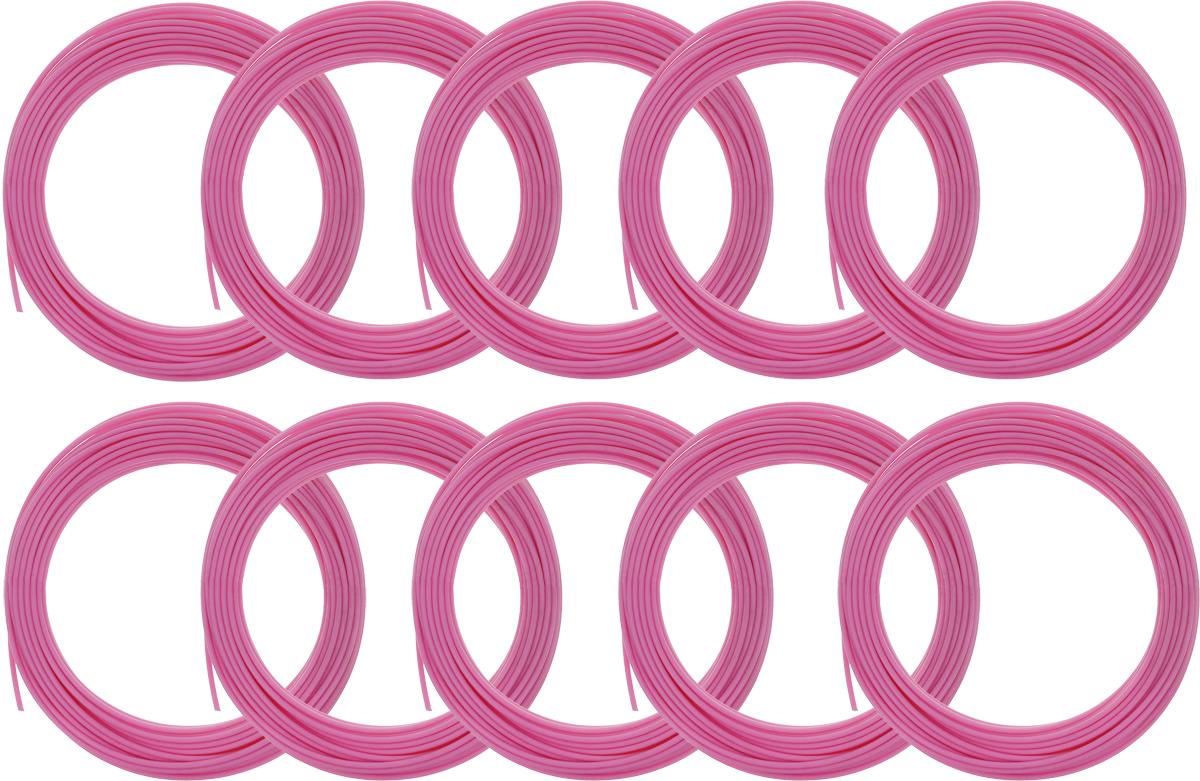 Spider Box пластик PLA, Bright Pink 10 м 10 шт2990000002303Набор пластика Spider Box PLA - это расходный материал, используя который вы сможете делать мыслимые и немыслимые вещи, подсказанные вашим воображением.Пластик PLA может принимать много разных полимерных форм, ему можно придавать множество самых различных свойств. Его пластичность позволяет легко создавать элементы различных соединений и крепежа.Материал легко шлифуется и обрабатывается. Важно отметить, что пластик PLA создается из самых разнообразных продуктов сельского хозяйства - кукурузы, картофеля, сахарной свеклы и т.п. - и считается более экологичным, чем ABS, в основе которого лежит нефть.При плавлении не выделяет едких запахов.