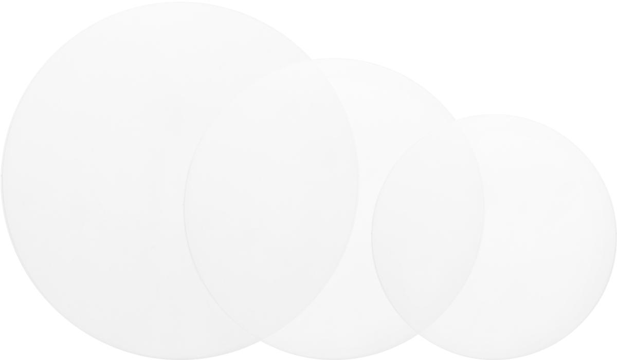 Тарелки для подставки под торт Wilton, дополнительные, 3 штWLT-302-7925Дополнительные тарелки для подставки под торт арт. 307-859. Материал: пластик.