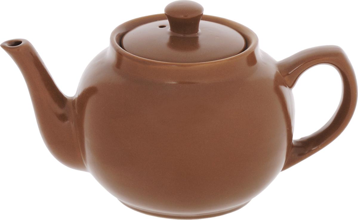 Чайник, цвет: коричневый, 1 л