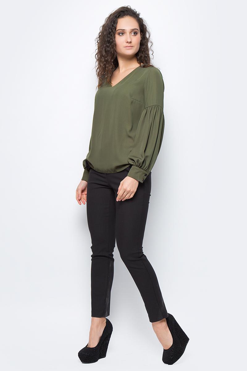 Блузка женская adL, цвет: зеленый. 11533109000_034. Размер M (44/46)11533109000_034