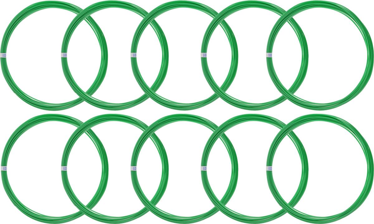 Spider Box пластик ABS, Green 10 м 10 шт2990000002389Набор пластика ABS Spider Box - это главный и единственный расходный материал, используя который вы сможете делать мыслимые и немыслимые вещи, подсказанные вашим воображением.Пластик ABS может принимать много разных полимерных форм, ему можно придавать множество самых различных свойств. Его пластичность позволяет легко создавать элементы различных соединений и крепежа.Материал легко шлифуется и обрабатывается. Важно отметить, что ABS пластик растворяется в ацетоне, что позволяет склеивать детали и добиваться очень гладкой поверхности.При плавлении может выделять легкий запах пластмассы.