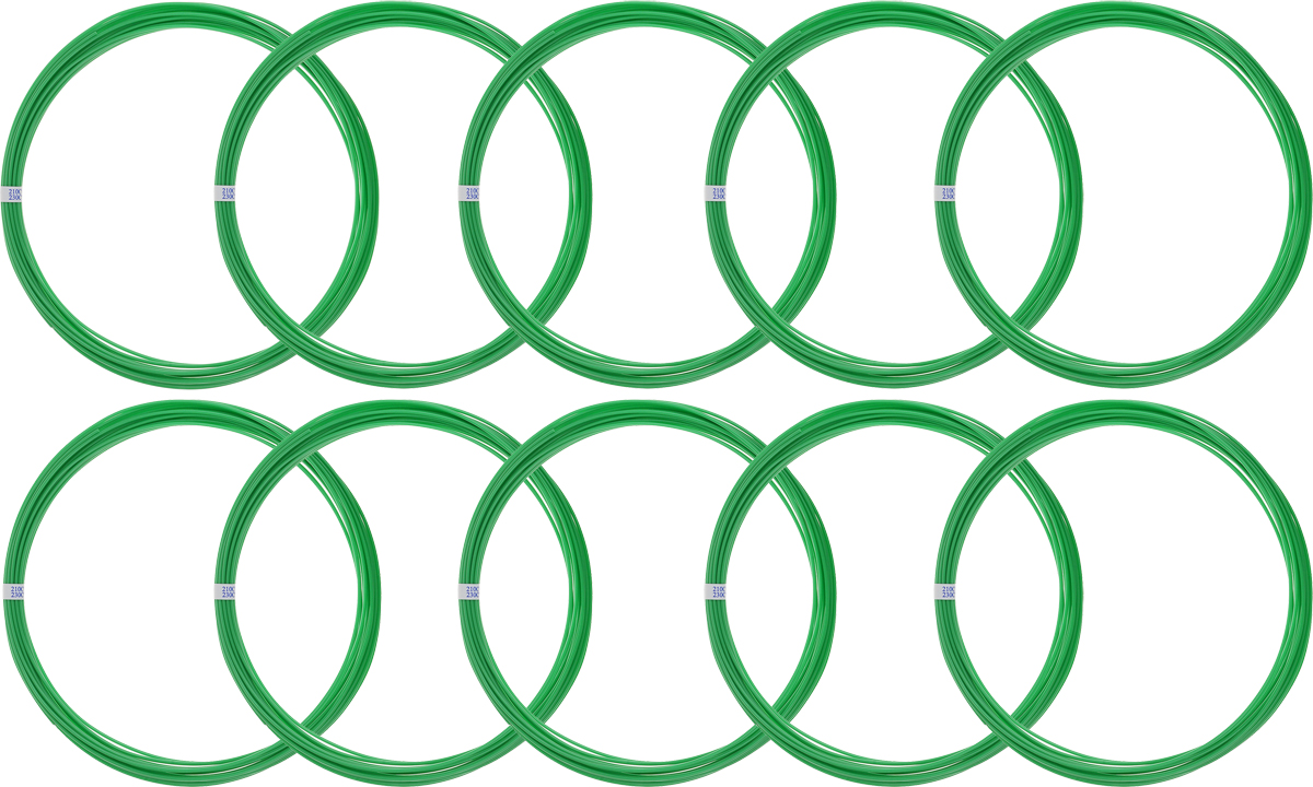 Spider Box пластик ABS, Green 10 м 10 шт