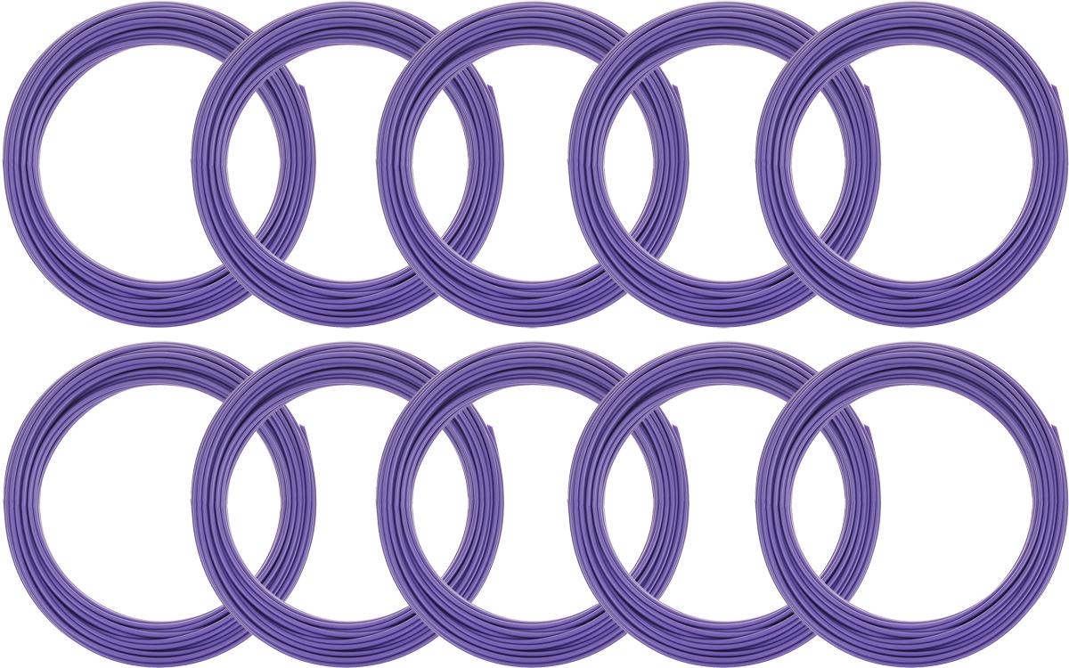 Spider Box пластик ABS, Light Purple 10 м 10 шт2990000001986Набор пластика ABS Spider Box - это главный и единственный расходный материал, используя который вы сможете делать мыслимые и немыслимые вещи, подсказанные вашим воображением.Пластик ABS может принимать много разных полимерных форм, ему можно придавать множество самых различных свойств. Его пластичность позволяет легко создавать элементы различных соединений и крепежа.Материал легко шлифуется и обрабатывается. Важно отметить, что ABS пластик растворяется в ацетоне, что позволяет склеивать детали и добиваться очень гладкой поверхности.При плавлении может выделять легкий запах пластмассы.