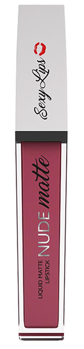 Sexy Lips Помада губная жидкая матовая Nude Matte, №3, 10 млSD-00007Стойкое матовое покрытие на целый день. Жидкая текстура моментально превращается в матовую. Плотное нанесение с одного раза без разводов. Комфортна и абсолютно неощутима на губах. Приятный аромат, удобный аппликатор. Идеальные насыщенные цвета. Представлена в самых модных оттенках. * Для избежания пересушивания губ перед использованием матовой жидкой помады рекомендуем нанести бальзам для губ для большего комфорта в носке.Какая губная помада лучше. Статья OZON Гид