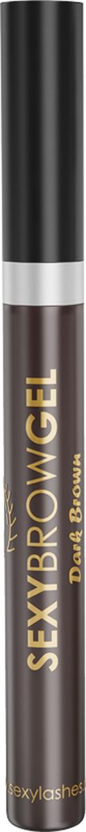 Sexy Brow Gel Гель для бровей оттеночный, темно-коричневый, 10 млSD-00003Оттеночный гель для бровей подходит не только для придания тона вашим бровям, но и для укладки и фиксации непослушных волосков. Специальные «Y»- образные фибры нейлона, входящие в состав геля, визуально увеличивают объём бровей, глицерин увлажняет волоски. Стойкость цвета до 12 часов. Не утяжеляет брови. Фиксирует непослушные волоски. Делает брови визуально гуще. Оттенок темно-коричневый, объем 10 мл.