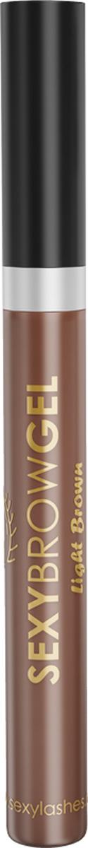Sexy Brow Gel Гель для бровей оттеночный, светло-коричневый, 10 млSD-00001Оттеночный гель для бровей подходит не только для придания тона вашим бровям, но и для укладки и фиксации непослушных волосков. Специальные «Y»- образные фибры нейлона, входящие в состав геля, визуально увеличивают объём бровей, глицерин увлажняет волоски. Стойкость цвета до 12 часов. Не утяжеляет брови. Фиксирует непослушные волоски. Делает брови визуально гуще. Оттенок светло-коричневый, объем 10 мл.Как создать идеальные брови: пошаговая инструкция. Статья OZON Гид