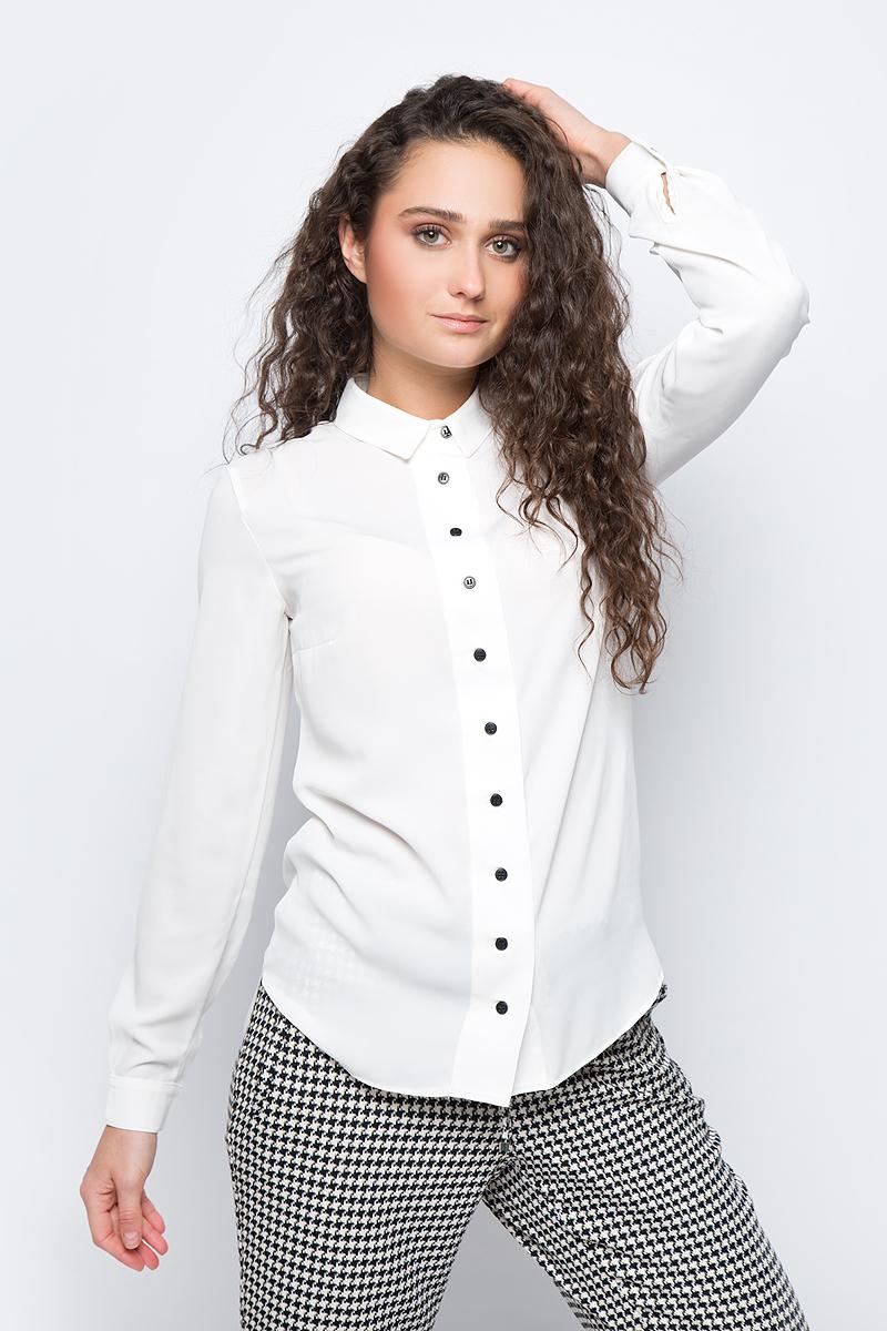Купить Блузка женская adL, цвет: белый. 13030112002_019. Размер S (42/44)