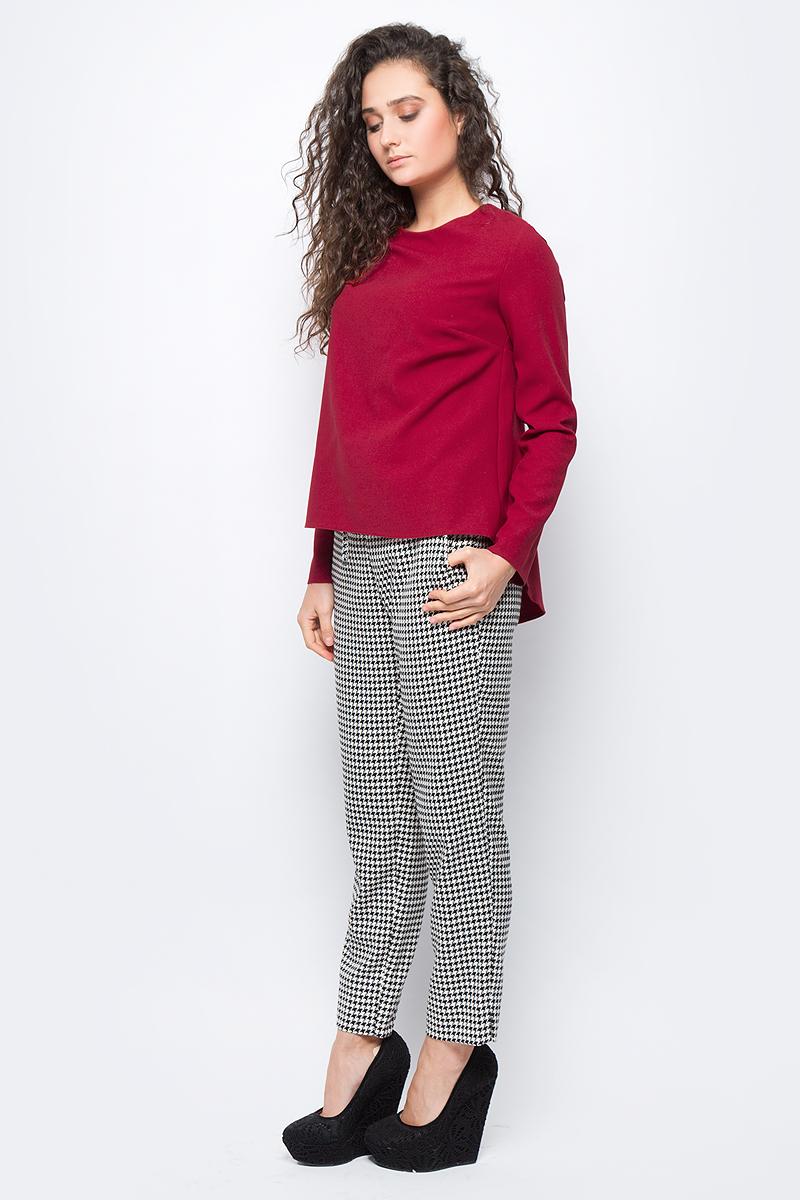 Блузка женская adL, цвет: красный. 11533132000_006. Размер L (46/48)11533132000_006
