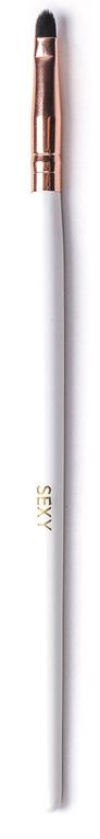 Sexy Кисть для окрашивания бровей миниSC-00044Язычковая кисть используется для нанесения хны на брови. Ручка выполнена из натурального дерева.