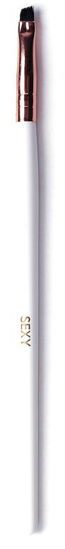 Sexy Кисть для окрашивания бровей скошенная миниSC-00043Скошенная кисть используется для нанесения хны на брови. Ручка выполнена из натурального дерева.