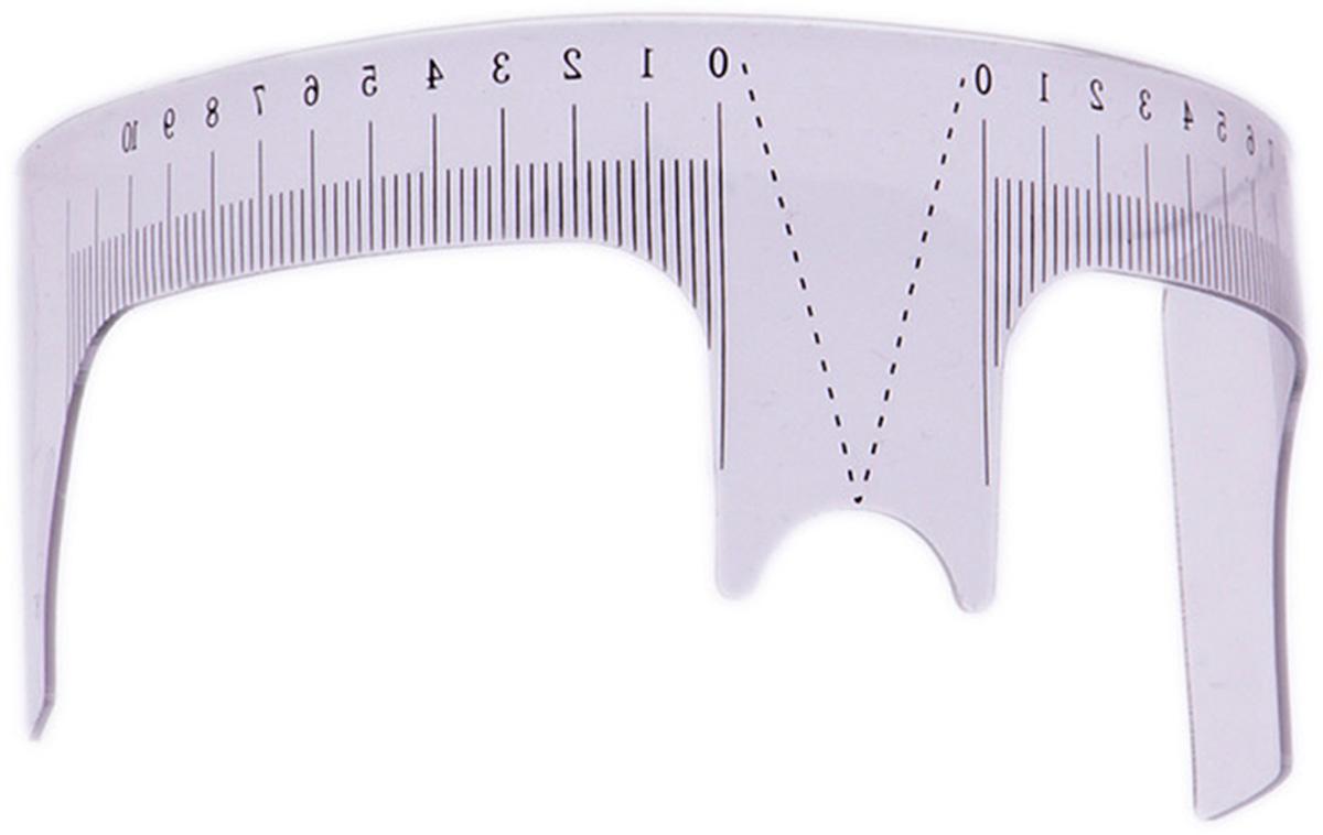 Sexy Lashes Линейка для бровейSC-00029С разметкой для построения идеальной формы и симметричного расположения бровей