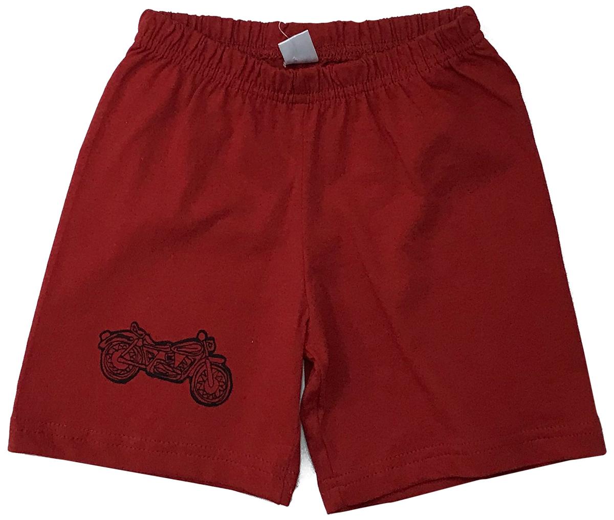 Шорты для мальчика Arge Fashion, цвет: красный. УЗТ-ШМ-001-3. Размер 110УЗТ-ШМ-001-3