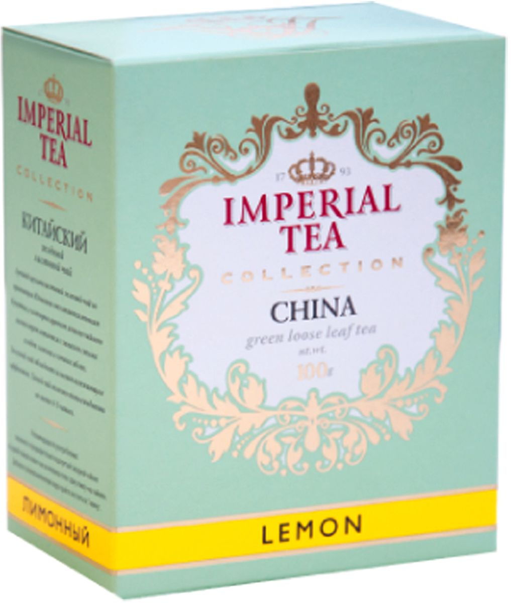 Императорский чай Collection Лимон, 100 г императорский чай collection фруктовый 100 г