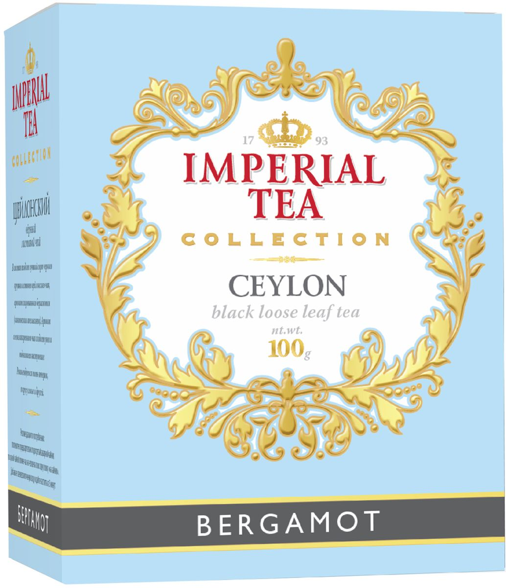 Императорский чай Collection Бергамот, 100 г императорский чай collection фруктовый 100 г