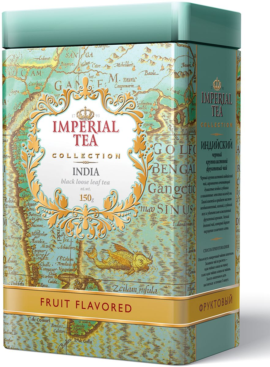 Императорский чай Collection Фруктовый, 150 г гринфилд чай фруктовый